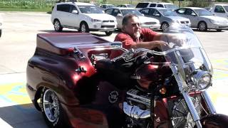Larry Currys Boss Hoss Trike