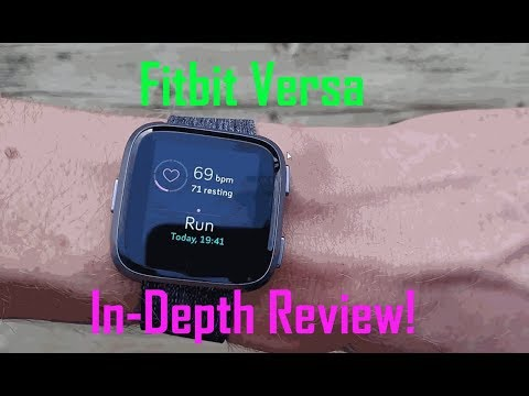 Fitbit Versa In depth Test Review!