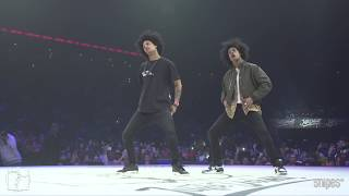 Download Song Hip hop Best 16 - Juste Debout 2019 - Les Twins (Larry & Laurent) vs Brotha E & Prince Wayne Free StafaMp3
