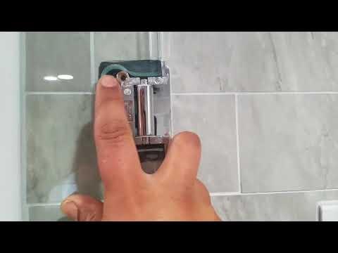 Frameless Shower Door Sagging
