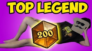 [Hearthstone] Top 200 LEGEND with Medivh Warlock?!