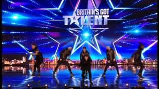 BGT 2017 AUDITIONS - ALLIN DANCE CREW