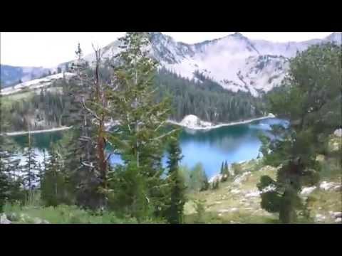 Горное озеро. Юта. Америка Часть 2