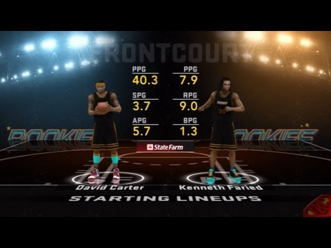 NBA 2K12 My Player Mode - Rookie/Sophomore Game During 2012 All-Star Weekend Feat. Scoring SF