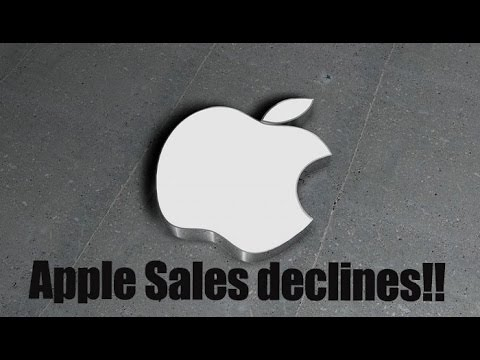 After 13 straight years Apple sales and revenues are declining : NewspointTV