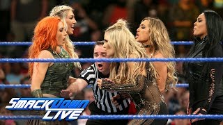 Chaos leads to historic match at WWE Money in the Bank: SmackDown LIVE, May 30, 2017