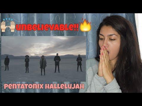 [OFFICIAL VIDEO] Hallelujah - Pentatonix   REACTION