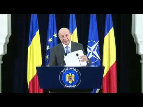Traian Basescu: Declaraţie de PREŞEDINTE!