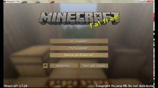 Como Instalar Minecraft (Actualizable+Pack de Textura+Mods Optifine y Helpfulvillages Forge)