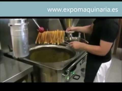 ¿Como hacer churros con una churrera profesional? - Expomaquinaria -
