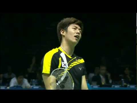 China's Cai Yun / Fu Haifeng play Lee Yong Dae / Kim Sa Rang of South Korea in the Men's Doubles finals of the Dongfeng Citroën BWF Thomas and Uber Cup Finals 2012. Subscribe for highlights,...