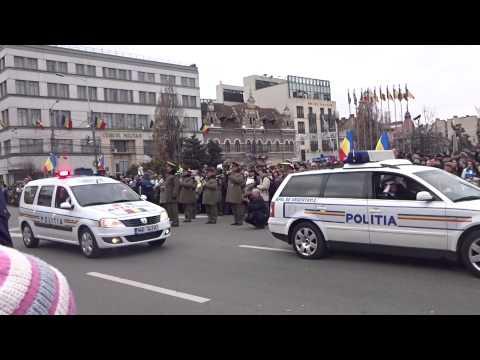 Parada militara 1 decembrie 2014 Cluj Napoca