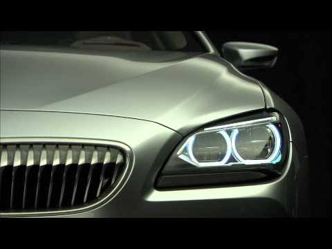 BMW Concept 6 Series Coupé exterior design