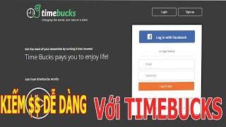 Diệu Xuân Hướng dẫn kiếm tiền dễ dàng với Timebucks