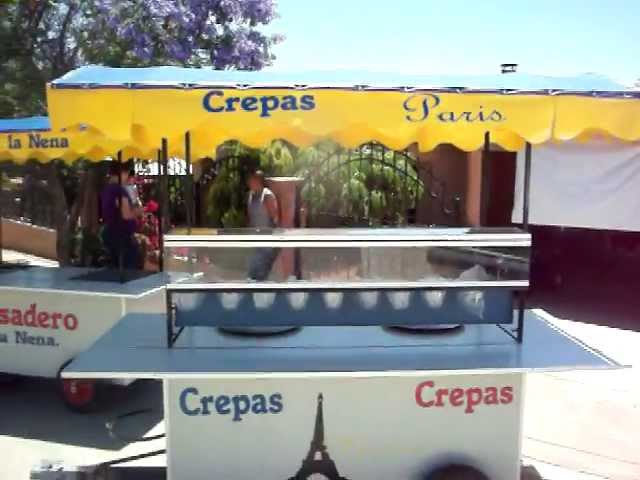 CARRETA DE CREPAS ENSENADA