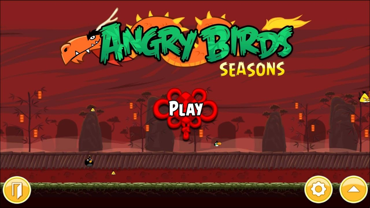 Year  Dragon Music Hq Angry Birds Seasons Pc Version Youtube
