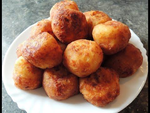 Как приготовить картофельные шарики - видео