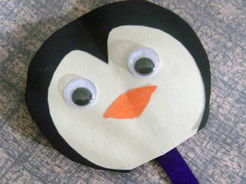 Easy Paper Kids Crafts: penguin