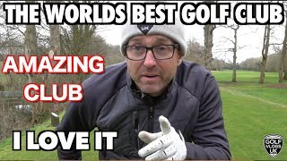 THE BEST NEW GOLF CLUB IN THE WORLD - HANDICAP CUT ON THE WAY NOW!