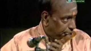 N. Ramani performs Swara Raga Sudha (Shankarabarnam) 1 of 2
