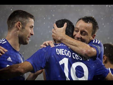 Diego Costa Goal 1:1 Chelsea Vs Burnley (Premier League) 2014-2015 HD