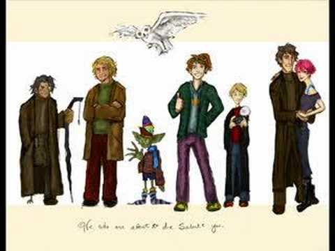 Tribute to those who Slipped Away (A Harry Potter Tribute) Music Videos