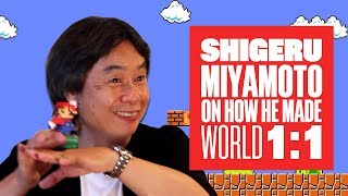 Miyamoto on World 1-1: How Nintendo made Mario