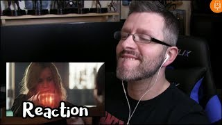 Marvel Studios Captain Marvel Special Look Reaction