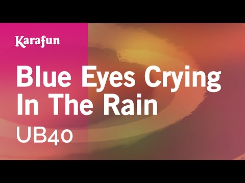 Karaoke Blue Eyes Crying In The Rain - UB40