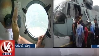 Kerala Floods | PM Modi Conducts Aerial Survey Of Affected Areas Along With CM Pinarayi