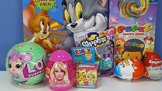 Lol 2. Seri Shopkins Pepe Toybox Tom ve Jerry Kinder joy Sürpriz Yumurta ve Paketleri Açıyoruz