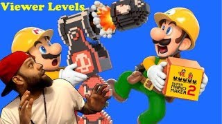 Super Mario Maker 2 Endless Super Expert With Skips and Viewer Levels.......