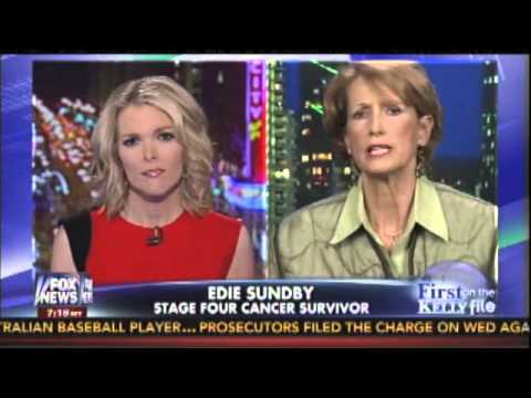 Cancer survivor Edie Sundby talks with Megyn Kelly about the WH attack on her
