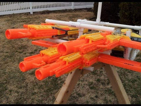 The Quatrapede: A Massive Nerf Turret