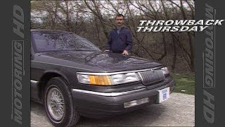 Throwback Thursday:  1992 Mercury Grand Marquis
