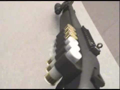 Mossberg 930 SPX Blackwater. Mesa Tactical SureShell ShotShell Carrier Install