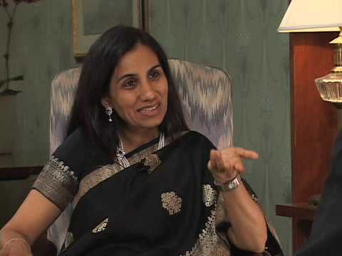 ICICI Bank's Chanda Kochhar: 'A Very Exciting and Challenging Journey'