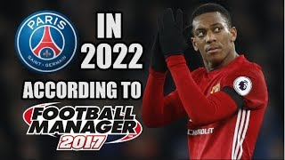 PSG In 2022 According To Football Manager 2017