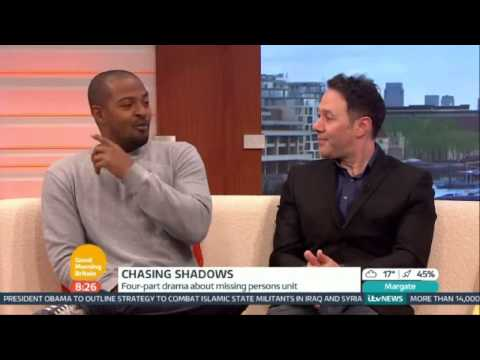 Reece Shearsmith and Noel Clarke on