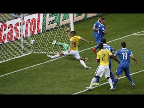 Colombia 3 - 0 Greece  World Cup 2014