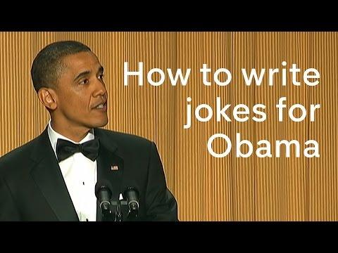 Barack Obama at the White House Correspondents' Dinner: how to write his jokes
