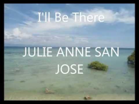 I'll Be There- Julie Anne San Jose Lyrics video