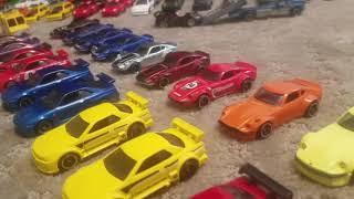 Hot Wheels wheel swap garage JDM car meet song Ocean Drive