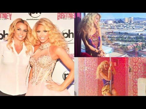 Meeting Britney Spears In Vegas W  Trisha Paytas | Gigi video