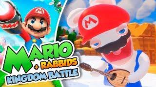 ¡El Rabbid explosivo! - #09 - Mario + Rabbids Kingdom Battle en Español (Switch) DSimphony