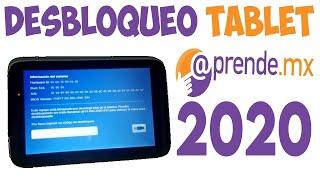 Desbloqueo Tablet aprendemx | Antirobo | Sin Pila | tcopp.bin | SEP |