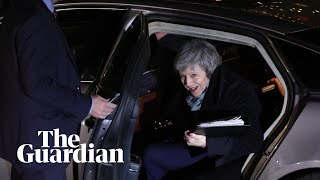 Theresa May to make statement after winning confidence vote – watch live