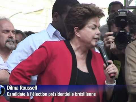 Election présidentielle au Brésil: Dilma Rousseff grande favorite