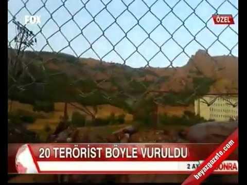 Güzelkonak Karakolu Çatışma 20 Terörist Böyle Öldürüldü