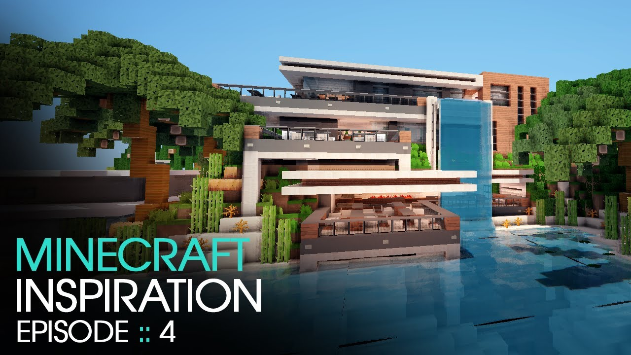 Minecraft Inspiration W Keralis Modern Cafe YouTube